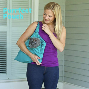 Purrfect Pouch - Comfy Cat Carrier