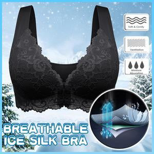 Front Closure Extra-Elastic Breathable Bra (From M to 3XL & Free Shipping)