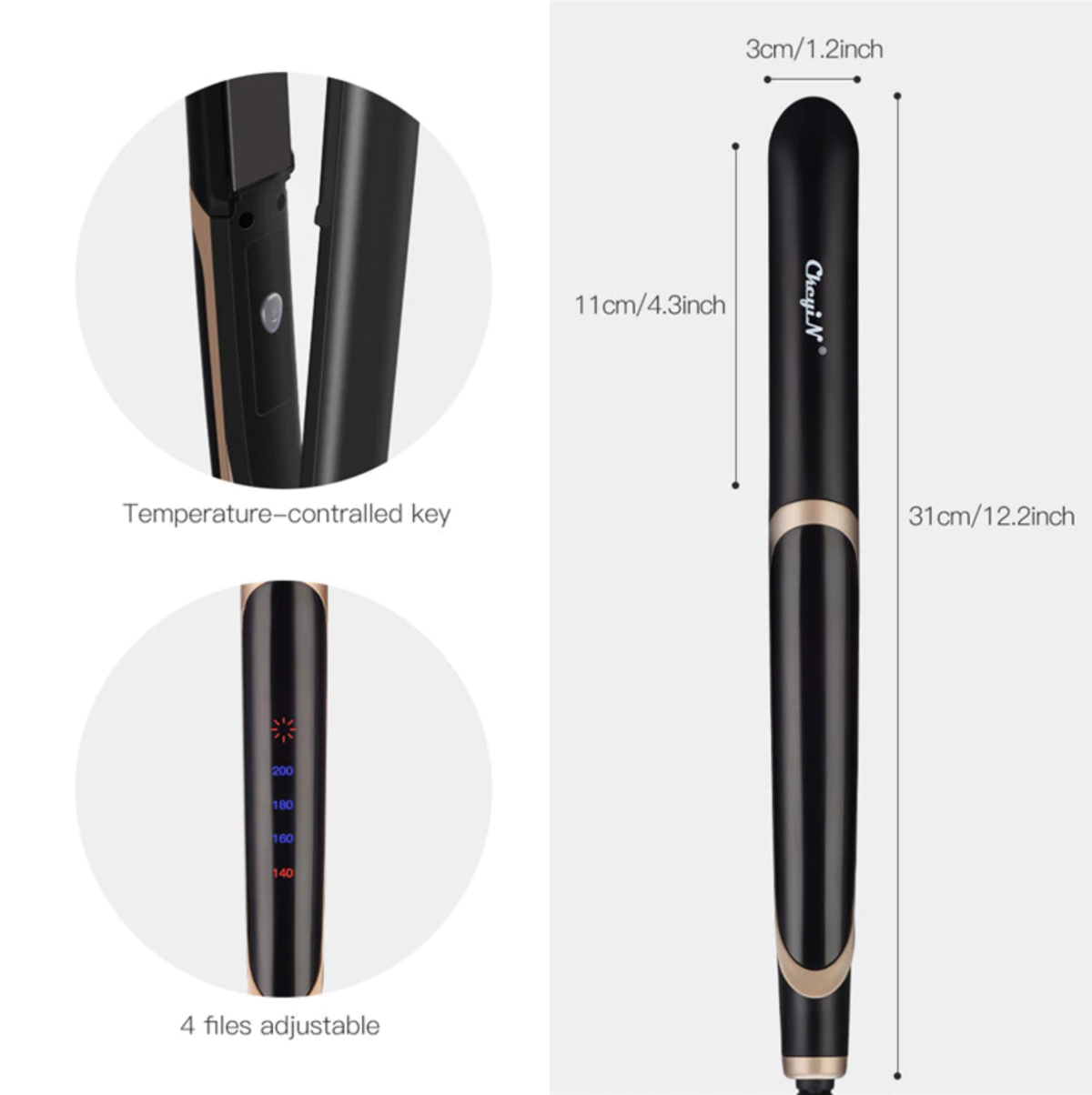 CARA ProHair: Professional Hair Straightener & Curler