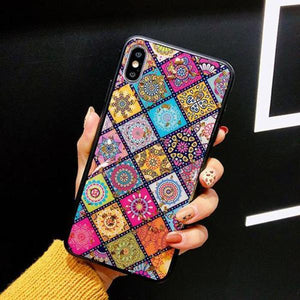 Glitter & Glossy Marble iPhone case - the perfect cover for iPhone lady