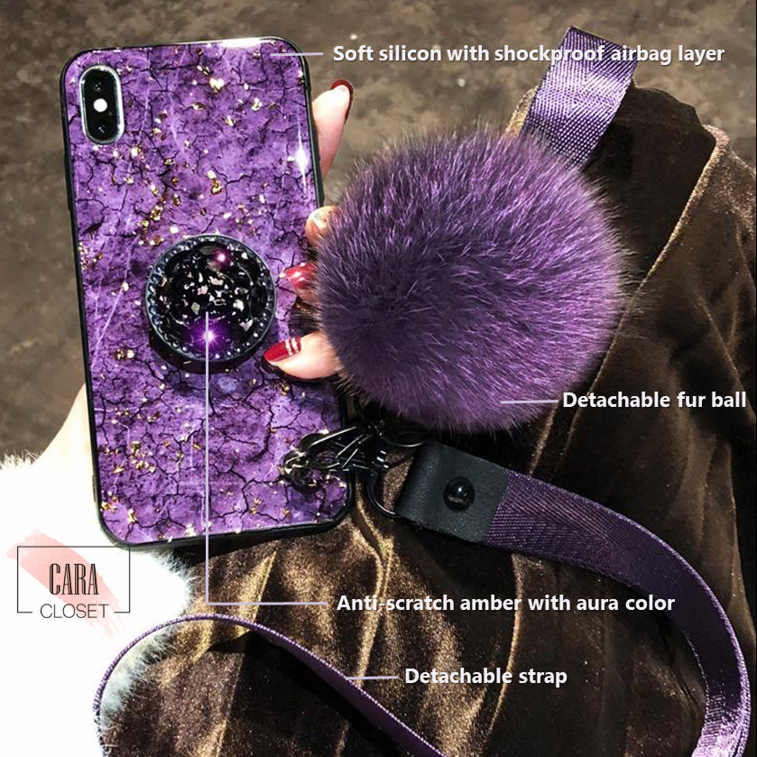 CARA GEMS - Aura Color Phone Case for iPhone (Buy 2 Get 1: Code: 2GEMS1)