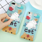 Cute 3D Squishy Phone Cases For iPhone
