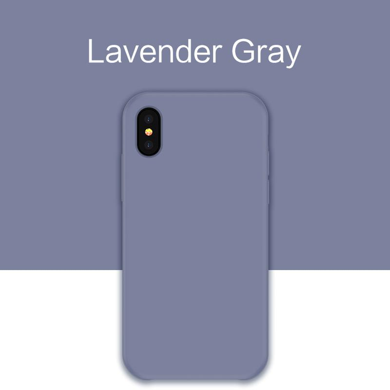 CARA SiCover: Plain Color Silicone iPhone case