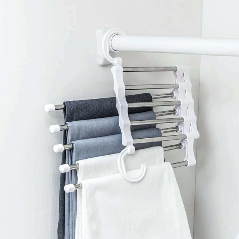 CARA TIDY - 5 in 1 Portable Pants & Towers Rack