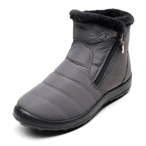 Women Boots 2019 Winter Shoes Woman Snow Boots With Plush Inside
