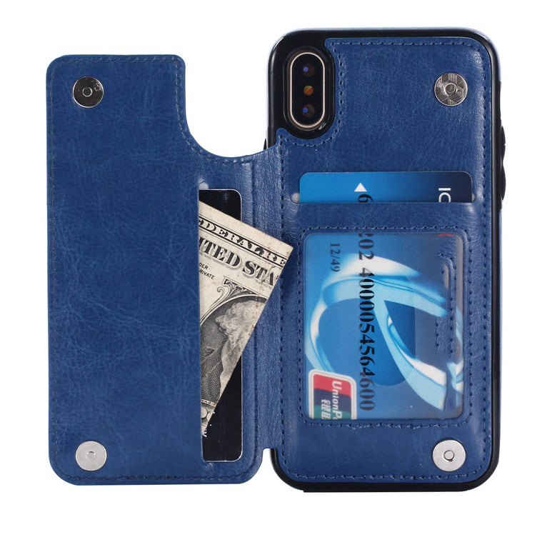 iCase Leather Case Multi Card Holders for Iphone