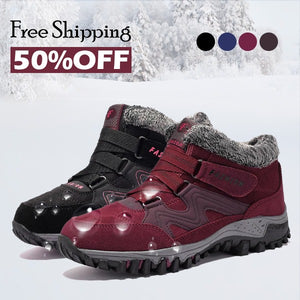 CARA COZY - Comfy Waterproof Ankle Boots (Free Shipping)