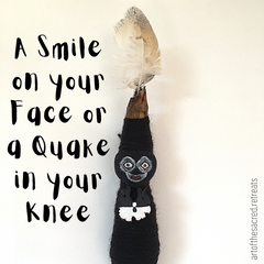 A smile on your face or a quake in your knee