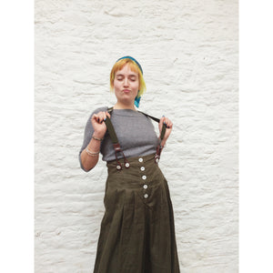 High waisted Culottes/various colours - MADE TO ORDER