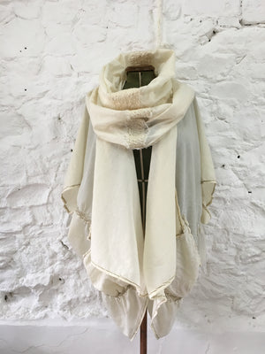 Fine Wool Cocoon Coat