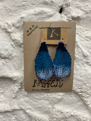 Art Earrings (free u.k shipping)