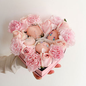 Mi heart for you - Fresas y Flores