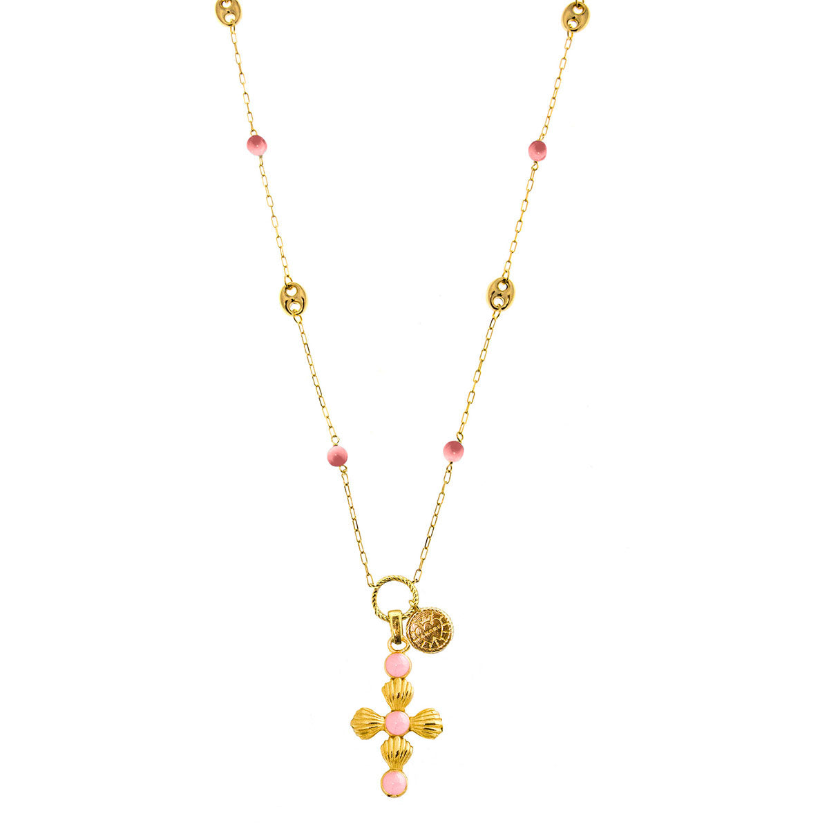 Necklaces - Necklace Cross HOLY-STER - 1 | Rue des Mille