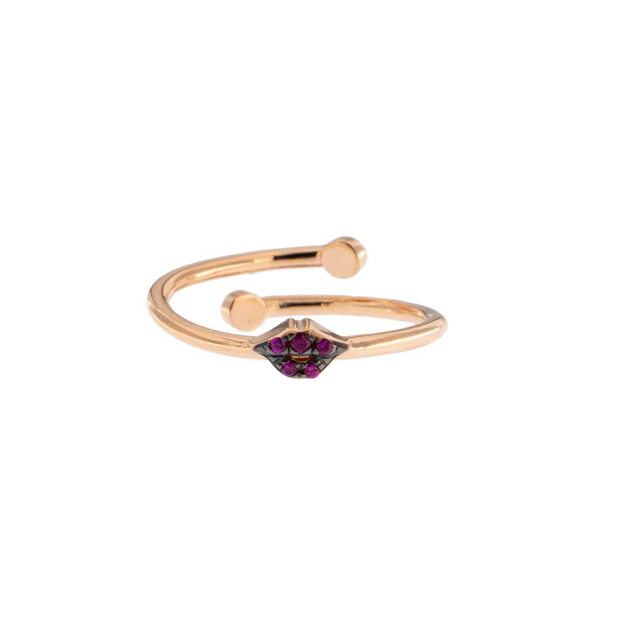 Rings - Zirconia Mouth Ring - 1 | Rue des Mille