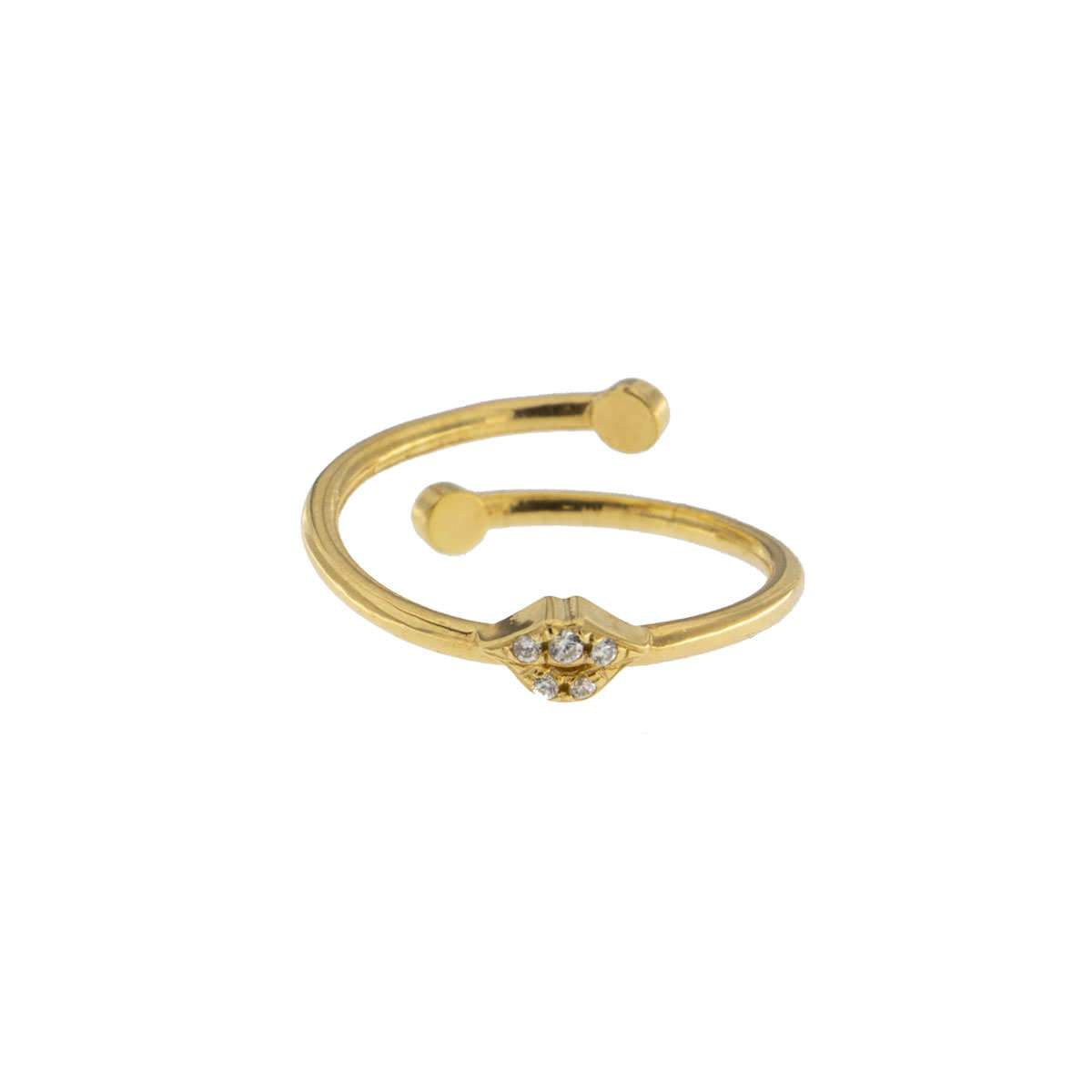 Rings - Zirconia Mouth Ring - 2 | Rue des Mille