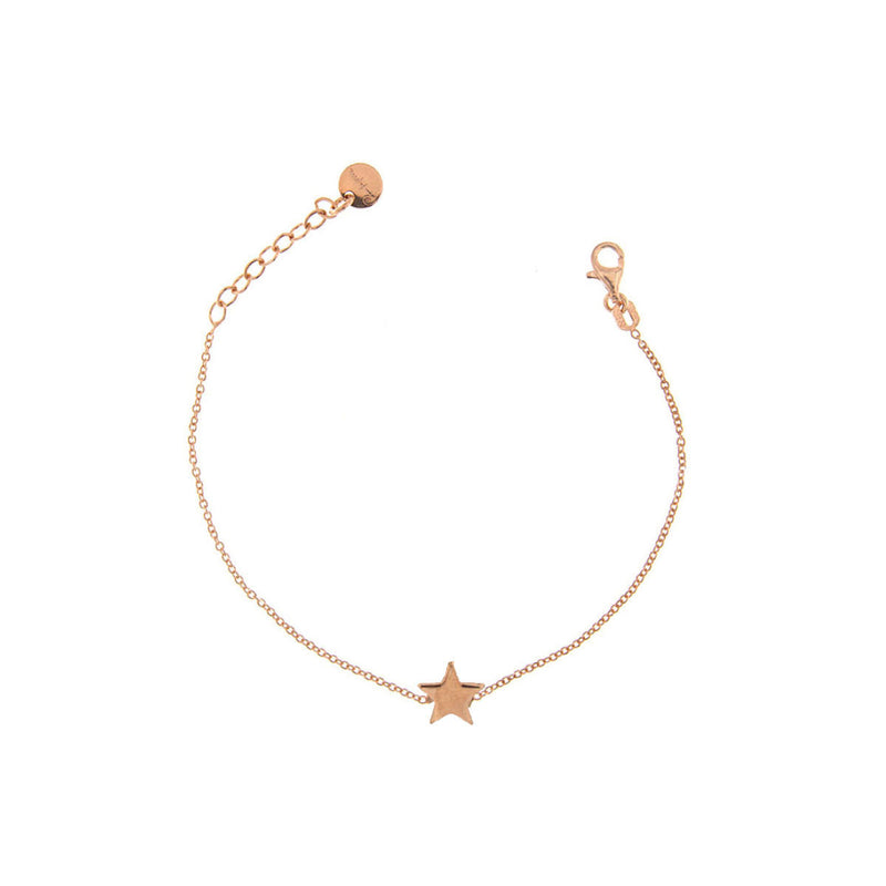 Bracelet rounded central subject - star