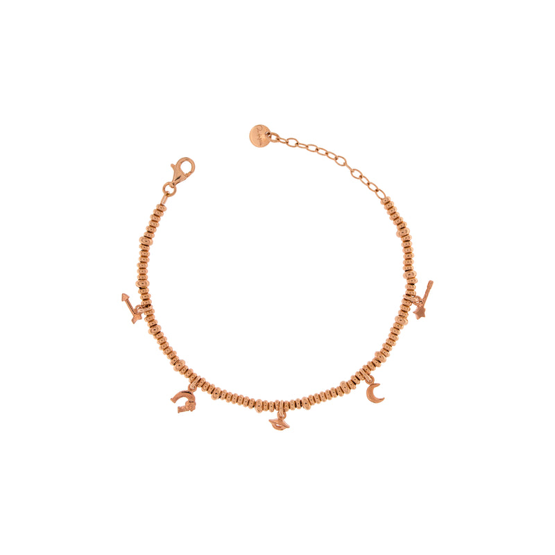 Bracelet with Five Subjects and Micro Circles