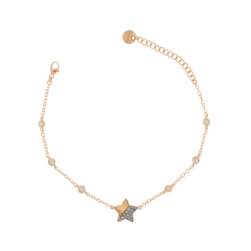 Bracelet Star Subject With Zirconia
