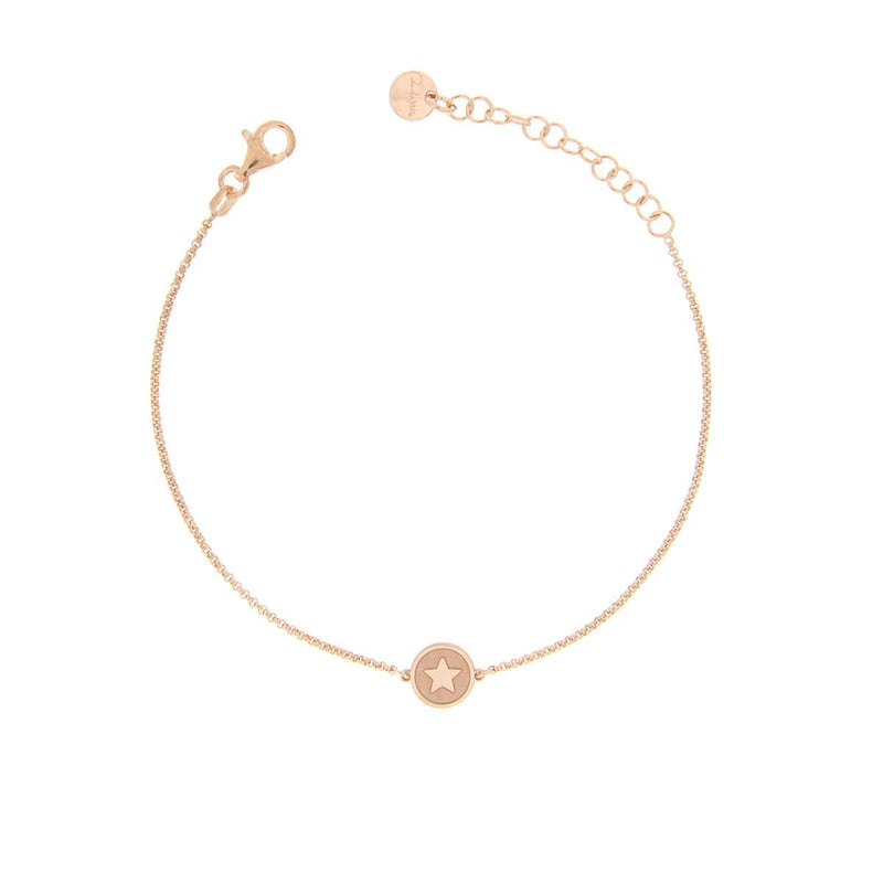 Chain Bracelet with Central Star Subject