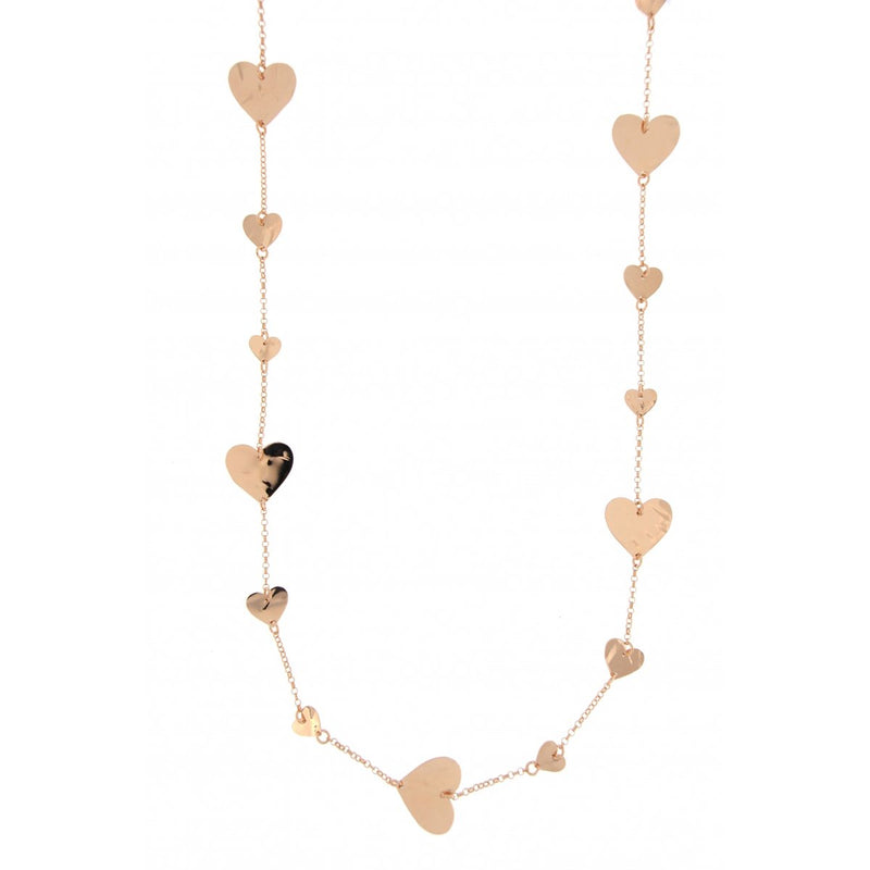 Goldenfall Necklace 100 cm Heart