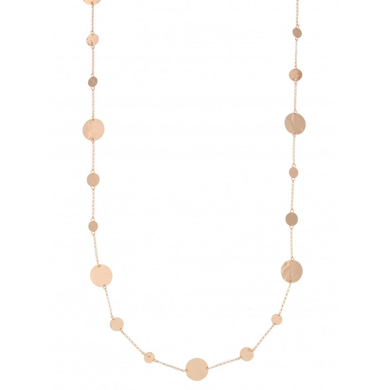 Goldenfall Necklace 100 cm Discs