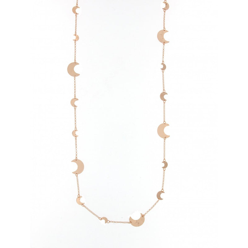 Goldenfall Necklace 100 cm Moon