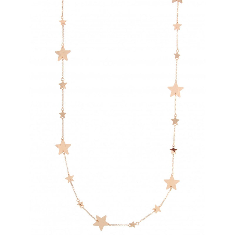 Goldenfall Necklace 100 cm Star