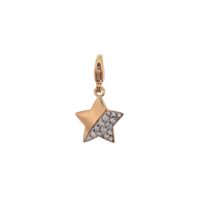 Pendant Star With Zirconia