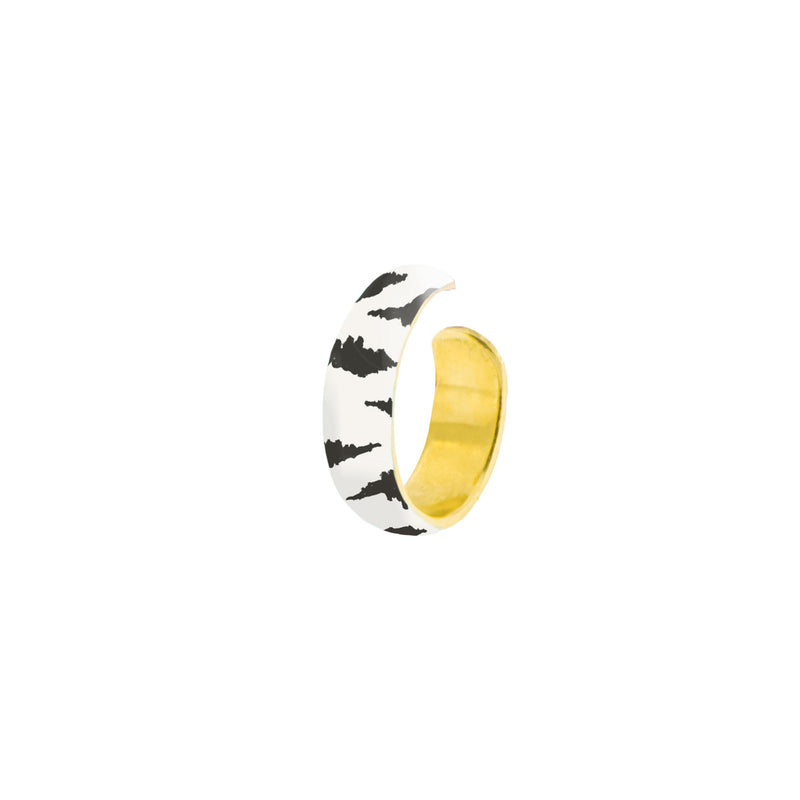 Earcuff Small Band - Zebra Print