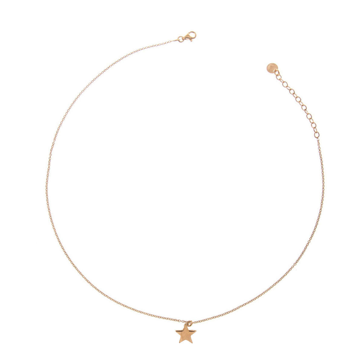 Chokers - Choker With Central Rounded Subject - Star - 1 | Rue des Mille