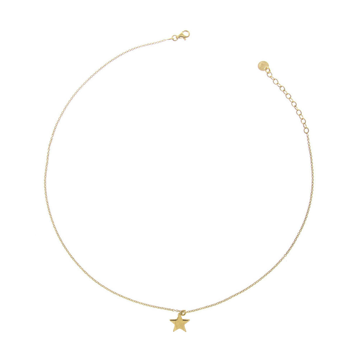 Chokers - Choker With Central Rounded Subject - Star - 2 | Rue des Mille