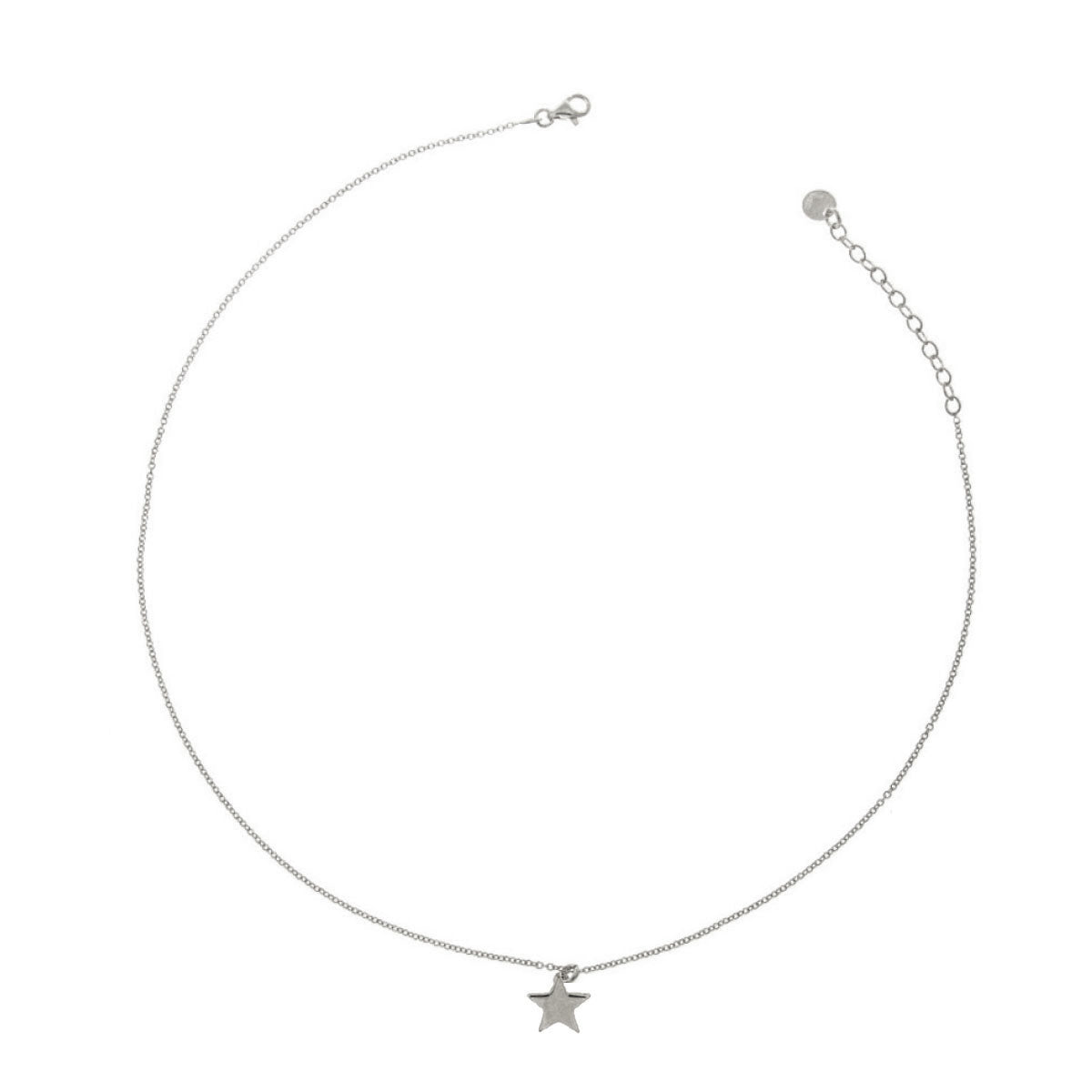 Chokers - Choker With Central Rounded Subject - Star - 3 | Rue des Mille