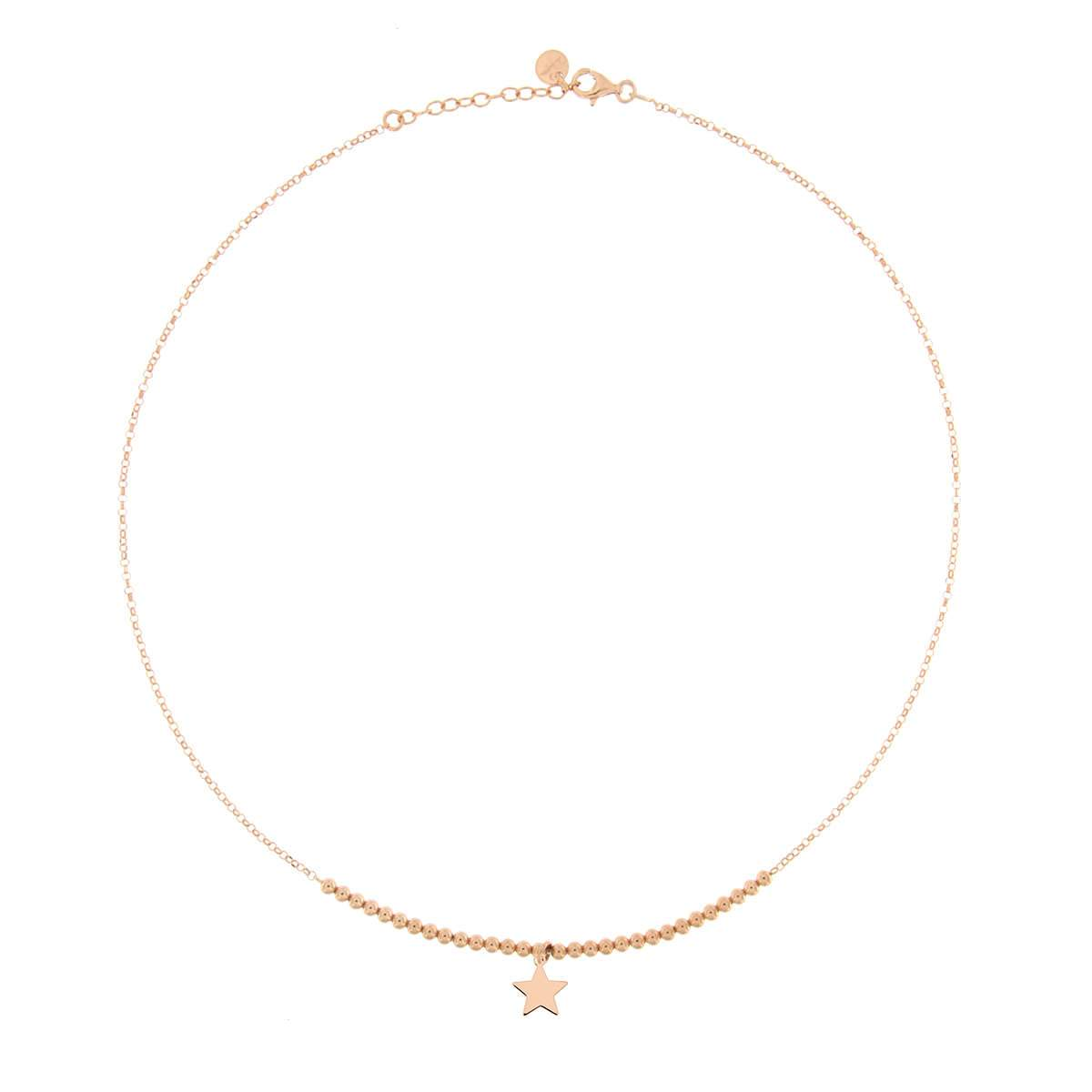 Chokers - Beaded Choker 1 Micro Subject - Star - 1 | Rue des Mille