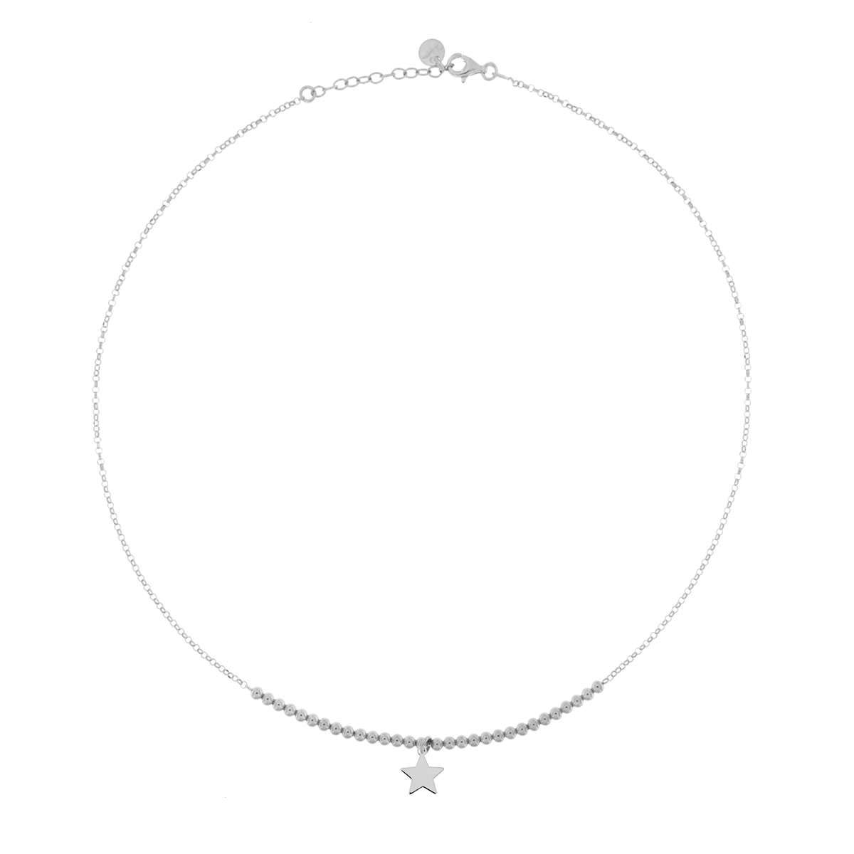 Chokers - Beaded Choker 1 Micro Subject - Star - 2 | Rue des Mille