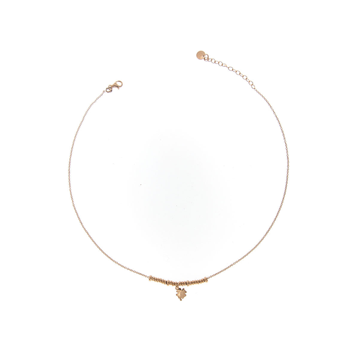 Chokers - Chocker micro rings - clover - 1   Rue des Mille
