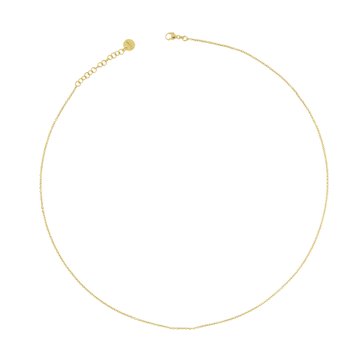 Chokers - Choker Base with Simple Chain - 2 | Rue des Mille