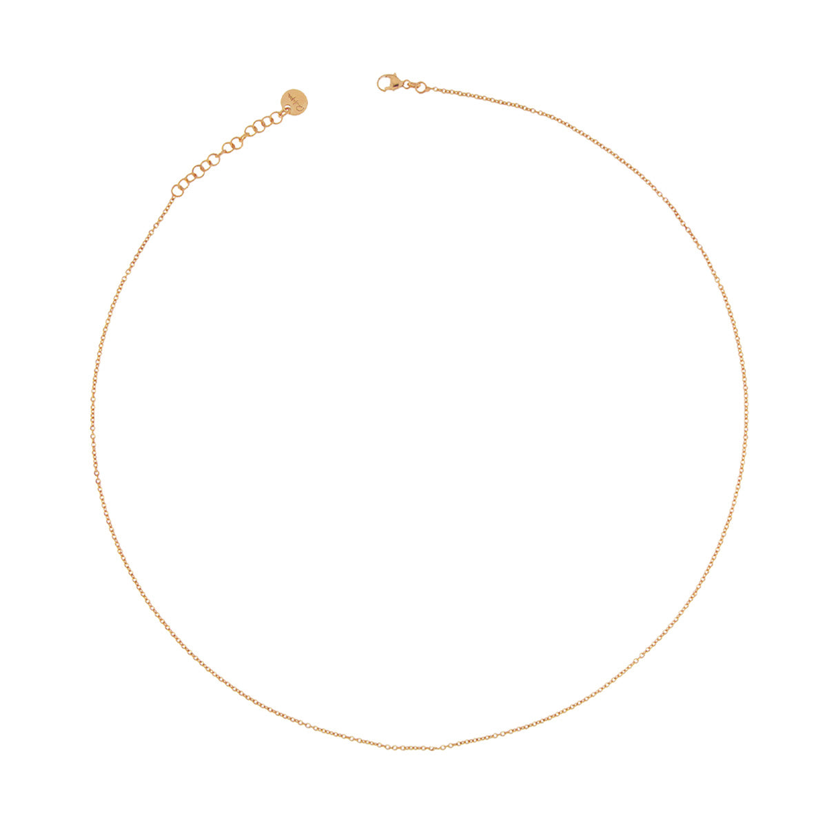 Chokers - Choker Base with Simple Chain - 1 | Rue des Mille