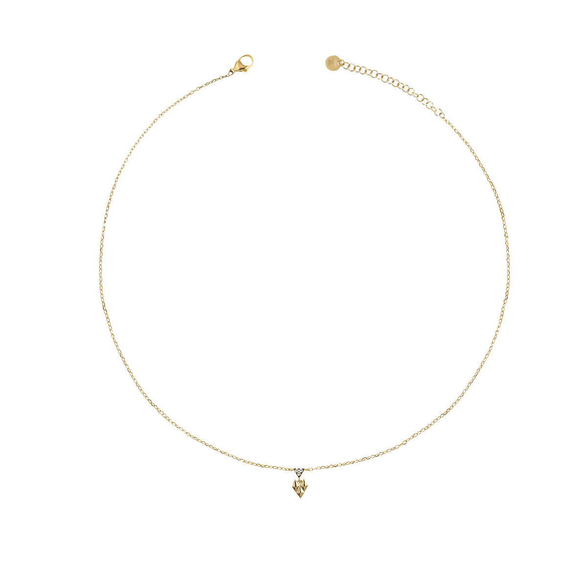 Chokers - Chocker mini crazy heart and studs - 1 | Rue des Mille