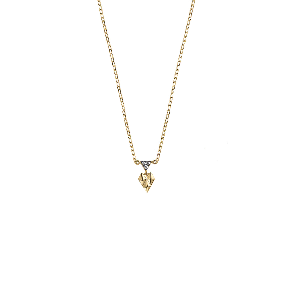 Chokers - Chocker mini crazy heart and studs - 3 | Rue des Mille