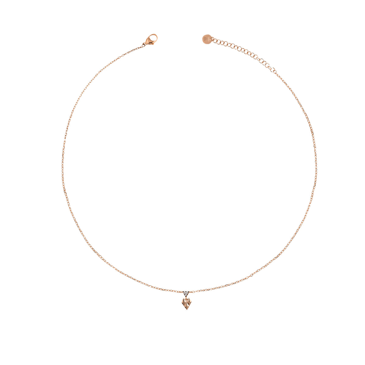 Chokers - Chocker mini crazy heart and studs - 2 | Rue des Mille