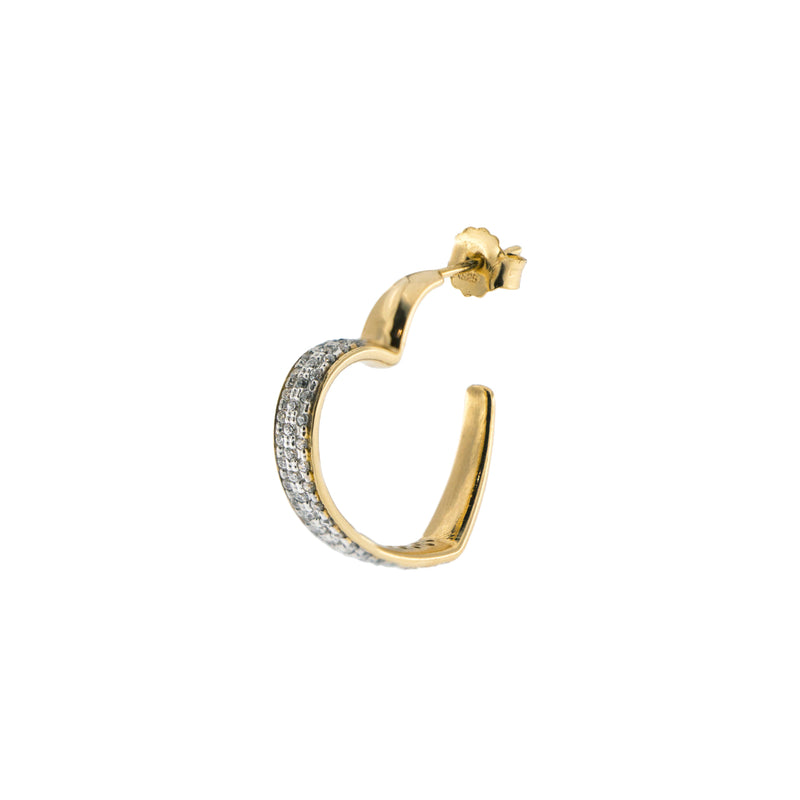 Single Earring Heart – Winter Capsule Collection