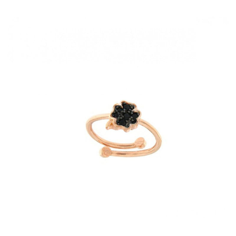 Four-leaf Clover Open Ring