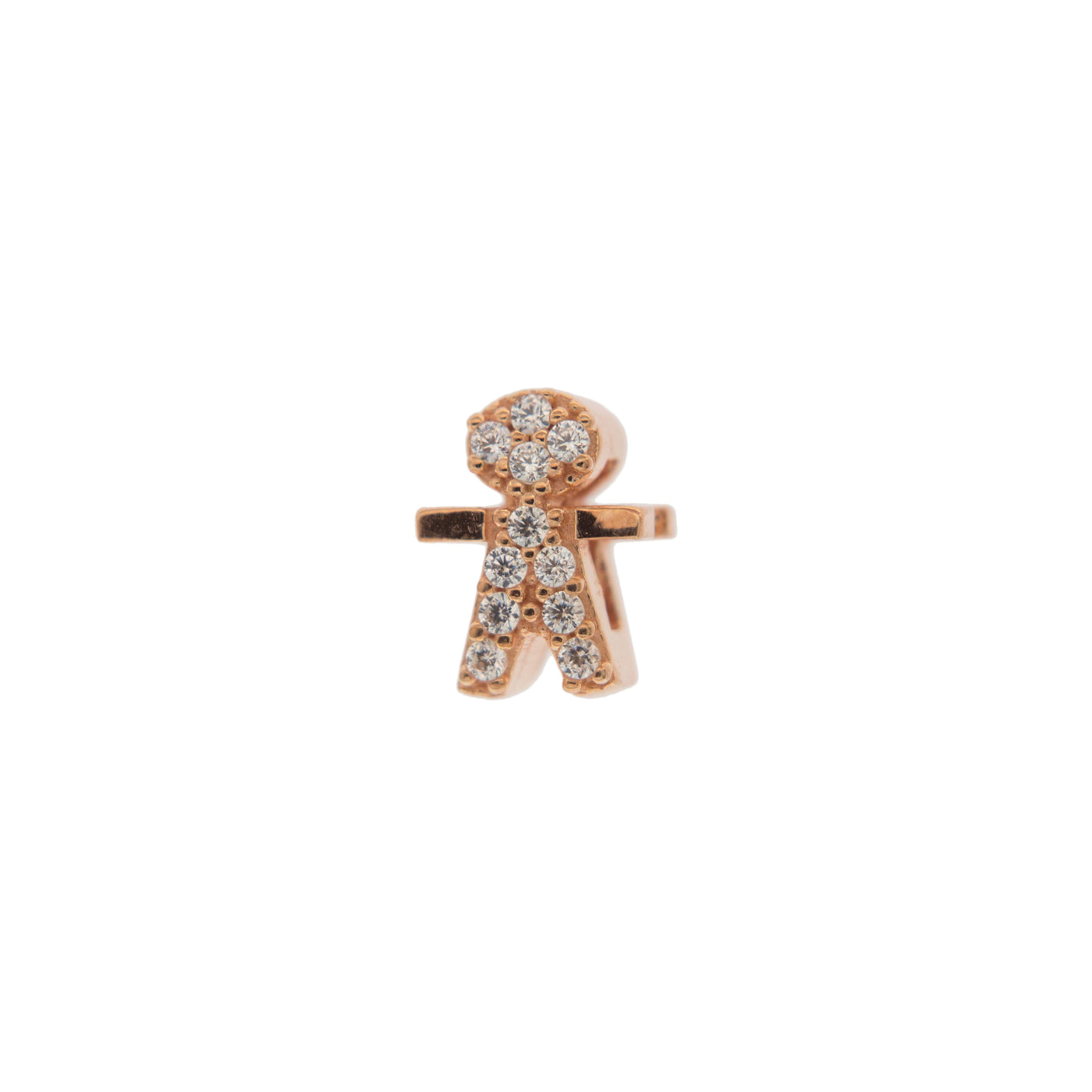 Moments - Moment Little Boy with Zircon for Carousel Bracelet and Choker - 1 | Rue des Mille