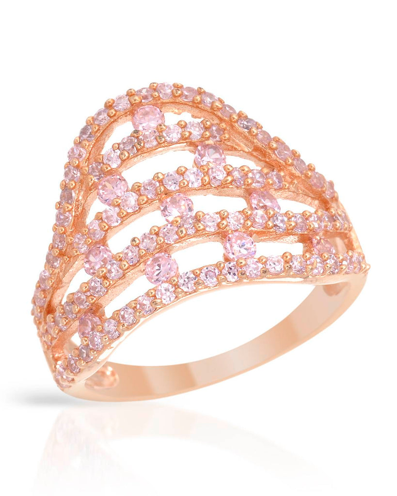 Pink Royal Crown Ring