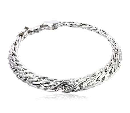 Women's 14k Gold Wheat Link Bracelet, 7.25""