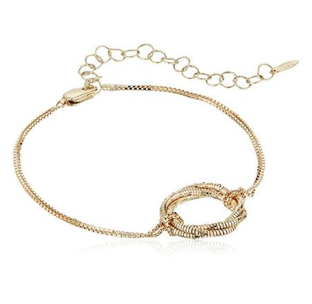 "14k Gold Italian Bracelet, 5.5+2"" Extender - Bee Jewels"
