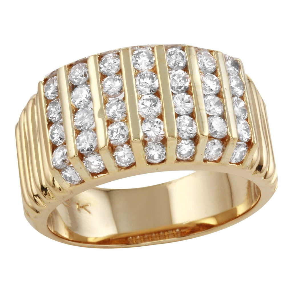 Women's 18k Yellow Gold Diamond Ring