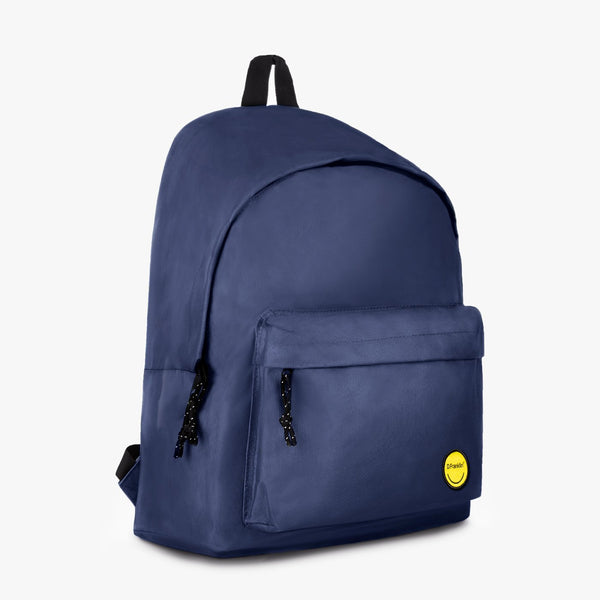 Basic Backpack Smiley Navy