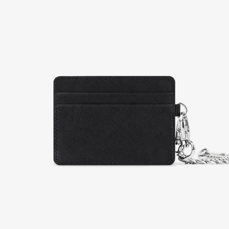 Black Chain Cardholder