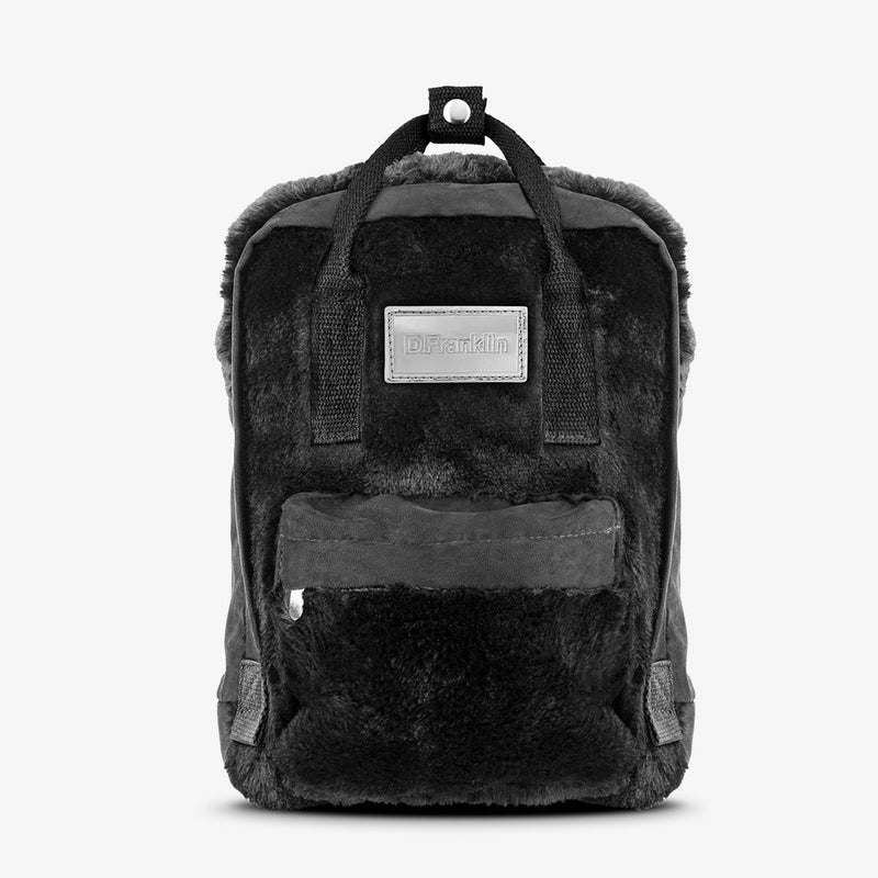 Abby Backpack Fur Black / Black